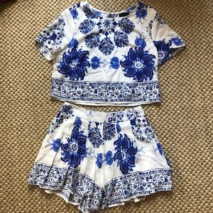 Two-piece set from boutique!